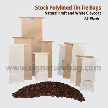 Polylinded Paper Tin Tie Bags And Other Stock  Items