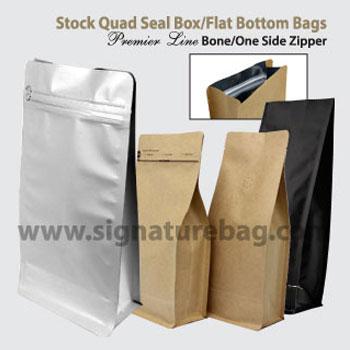 Premier Line TM  Quad Seal Box/Square Bottom Bags